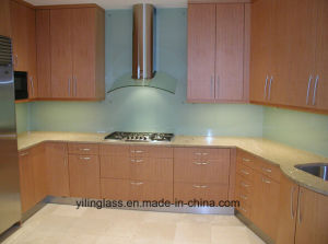 6mm 8mm 10mm Tempered Glass Splashback pictures & photos