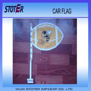 2014 Hot Selling Car Hanging Flags Car Flags