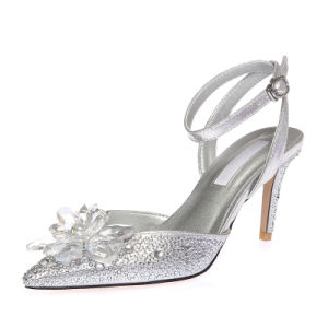 High Heel Sharp Toe Sexy Lady Women Wedding Shoes