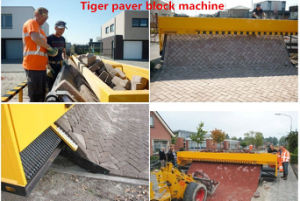 Automatic Tiger Stone Paving Block Paver Machine pictures & photos