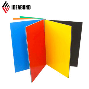 Fire Resistance High Gloss Aluminium Plastic Composite Panel pictures & photos