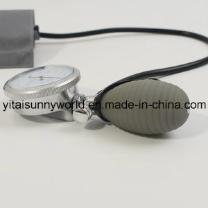 Palm Type Sphygmomanometer with Single or Double Tubing (SW-AS18) pictures & photos