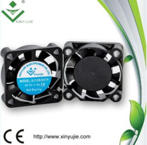 Fireproof UL Approved 25mm 25*25*07mm 5V/12V24V/ DC Cooling Fan pictures & photos