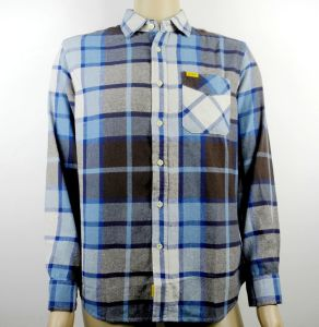 Factory Directly! ! Stock Checked Shirts for Men pictures & photos