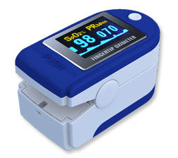 China OLED Finger Pulse Oximeter pictures & photos