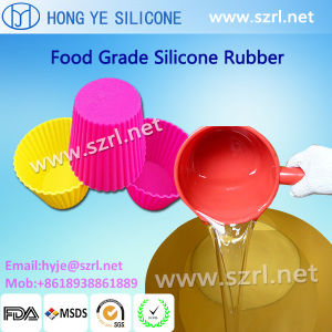 Silicone Rubber for Cupcake Mould and Baking Cups pictures & photos