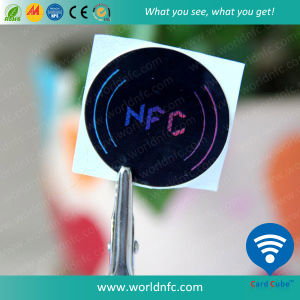 13.56MHz Ultralight 64 Bytes Artpaper NFC Sticker pictures & photos