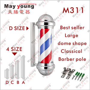 Best Seller Rotating Classical Barber Shop Pole pictures & photos