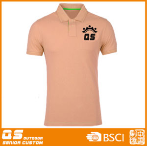 Men′s Sports Running Dry Polo T-Shirt pictures & photos