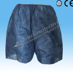 Nonwoven Polypropylene Disposable Pants, Hospital Disposable Short Pants pictures & photos