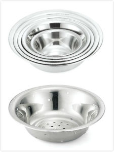 Heavy Duty Stainless Steel Bowls for Kitchen (16112 /16314) pictures & photos