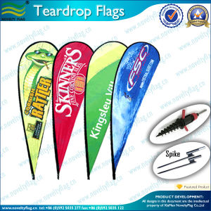 Beach Flag Feather and Teardrop Flags (M-NF04F06065) pictures & photos