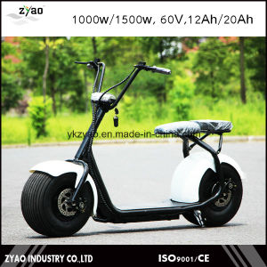 Ce /FCC/UL/Un38.8/RoHS E-Scooter City Coco 2 Wheels Electric Motorcycle1000W Adult City Scooter pictures & photos