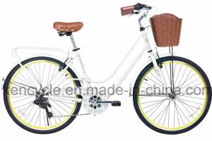 """6 Speed Vintage Bicycle Steel Frame Ladies City Bike 26"""" Vintage City Bicycle City Bike pictures & photos"""
