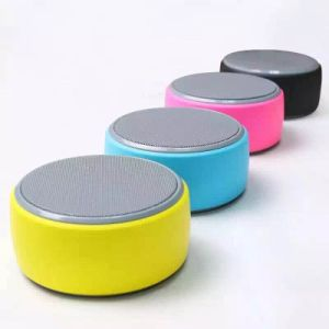Round Shape Mini Wireless Portable Bluetooth Mobile Phone Speaker pictures & photos