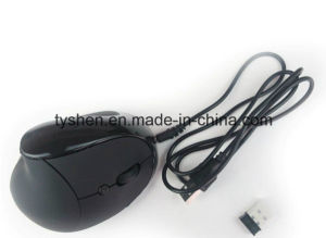 2.4G 6D Vertical Wireless Mouse with Lithium Battery pictures & photos