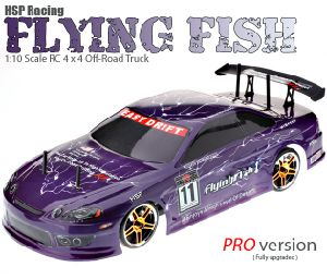 High Quality Drift Toy 4WD RC Car 4X4