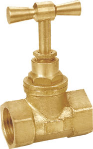 Brass Stop Valve with Steel Handwheel Sv-1230 pictures & photos
