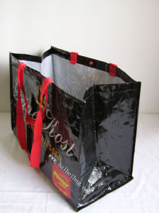 Reusable PP Woven Shopping Bag (hbwo-39) pictures & photos