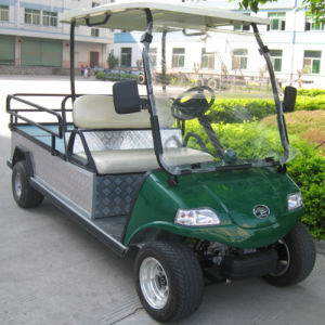 Electric Vehicle Cargo Truck Buggy Del3042gfb with Solar Panel pictures & photos
