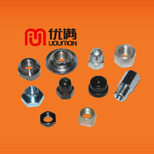 Customized Hex Nut Fastener Nut Flange Nutah Engineering Machinery Nut Auto Parts Fasteners