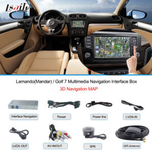 Golf 7! ! ! Car Navigation Interface Box for VW Touch Navigation, USB, HD Video, Audio pictures & photos