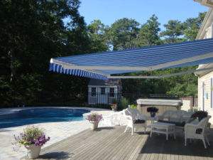 23X12 Feet Large Motorized Basic Retractable Awning for Swimming Pool (S-02)