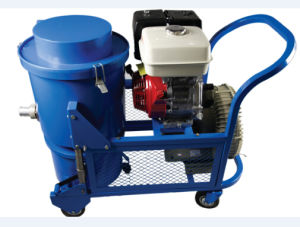 china gasoline engine driven outdoor vacuum cleaner