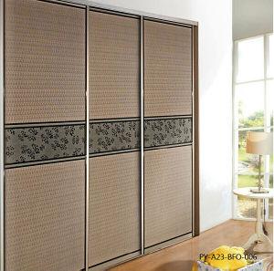 PU Series Sliding Door for Modern Design Wardrobe (PY-A23-BFO-006-1) pictures & photos