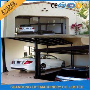 Double Platform Car Scissor Lift Parking pictures & photos