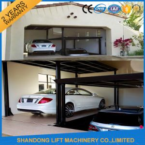 Mechanical Inground Big Scissors Car Lift for Parking Two Cars pictures & photos