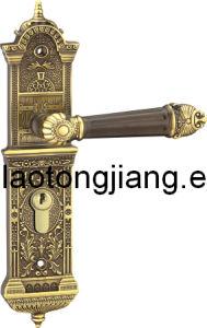 Mortise Lock Brass Handles