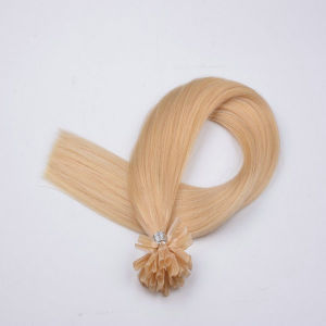 Ombre Human Virgin Remy Hair Extensions, Keratin Hair Extensions pictures & photos
