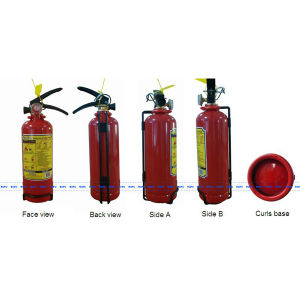 Hot Sell 1kg ABC Powder Fire Extinguisher pictures & photos