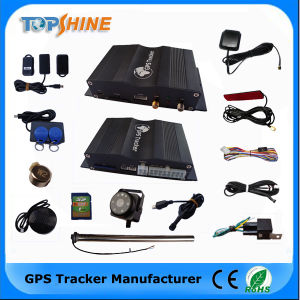 Double Camera Fuel Sensor Vehicle GPS Tracker pictures & photos