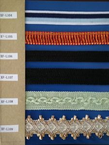 Curtain Lace with Competitive Price pictures & photos