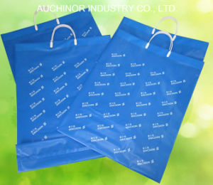 Soft Loop Handle Plastic Packing Bag for Shopping pictures & photos