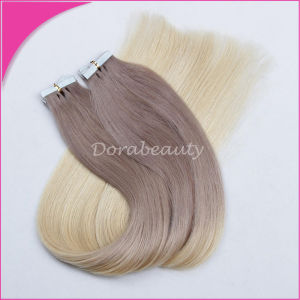 Brazilian Tape Hair Ombre Color Human Hair pictures & photos