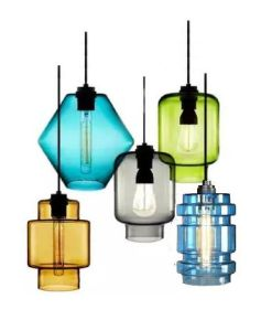 Modern Colorful Glass Pendant Lamp (WHG-129) pictures & photos