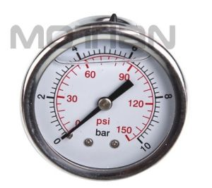 Glycerin Silicon Liquid Oil Filled Pressure Gauge pictures & photos
