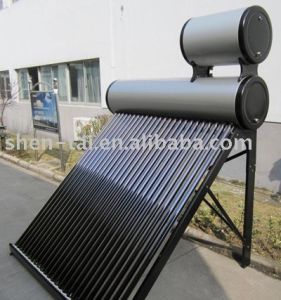 Suntask Non Pressure Solar Hot Water Heater 150L pictures & photos