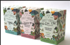 Customized Design Printing Cmyk Lamination Logo Stamping Paper Food Box/Chocolate Box pictures & photos