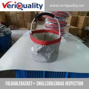 Foldablebasket+ Smallcoolerbag Quality Control Inspection Service at Dongyang, Zhejiang pictures & photos