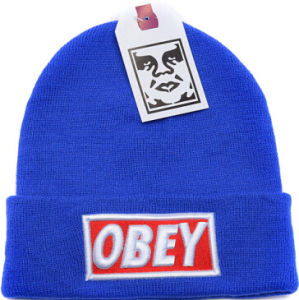 Promotional Turned-up Embroidered Obey Beanie pictures & photos