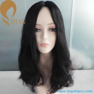 Top Quality Hair Silk Top Virgin Human Hair Jewish Wig for Women pictures & photos