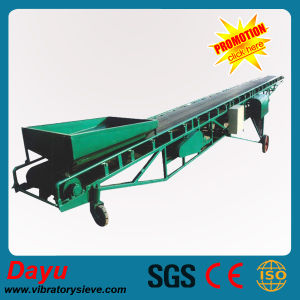 China PVC Coal Food Mining Chemical Rubber Belt Conveyor pictures & photos