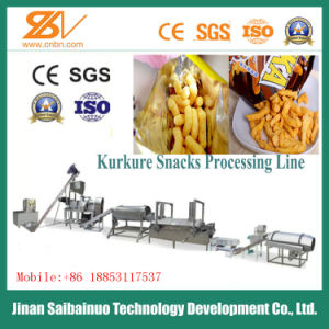 Ce Standard Full Automatic Corn Snacks Cheetos Manufacturing Machinery pictures & photos