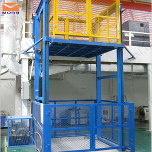 Warehouse Vertical Hydraulic Cargo Lift and Goods Lift Price pictures & photos