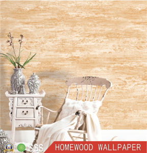 Deep Embossed Vinyl Wall Paper with Professional Factory pictures & photos