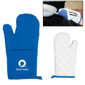 100% Cotton Promoaitonal Oven Mitts (HW005) pictures & photos
